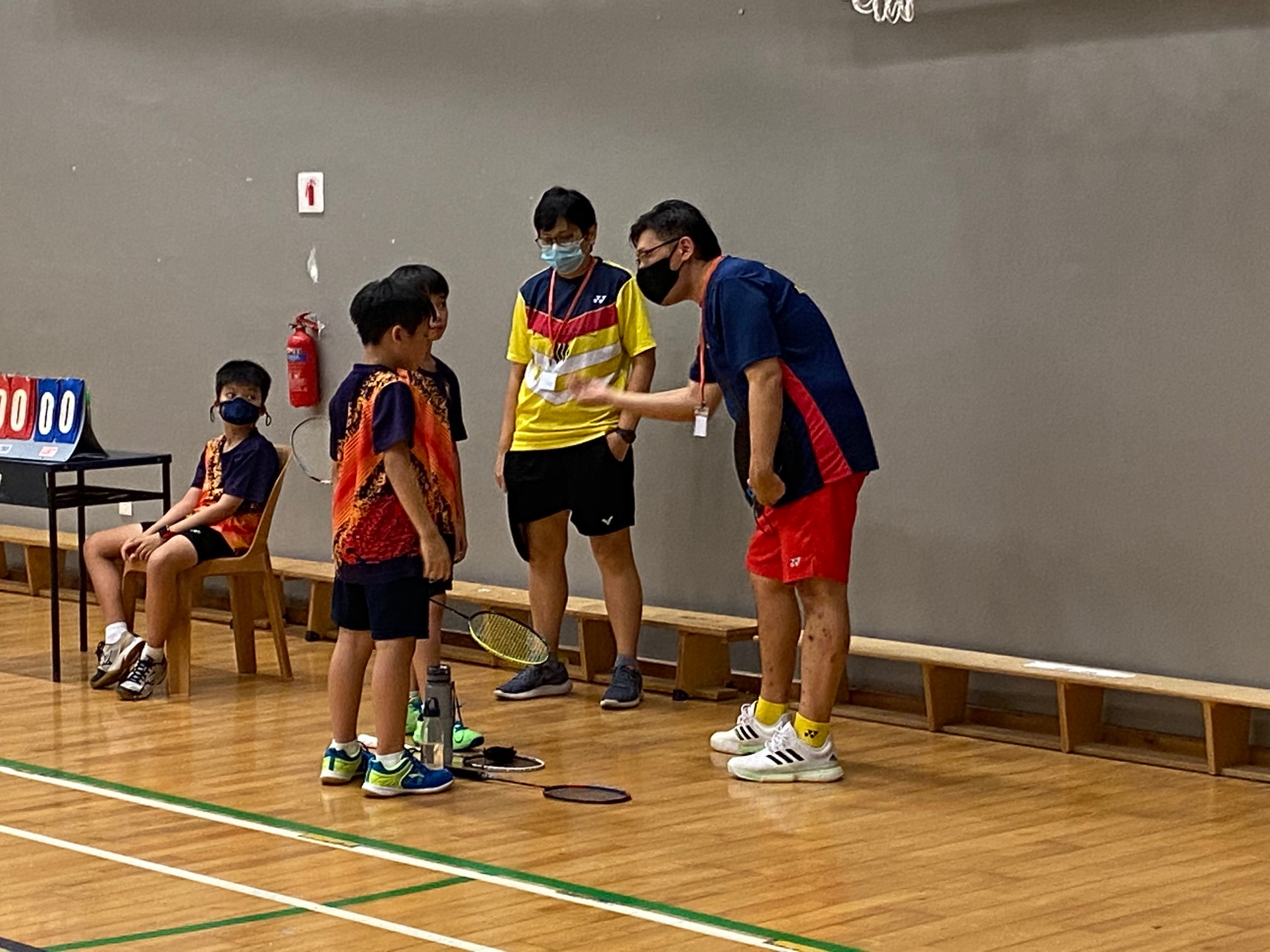 NSG Snr Div South Zone boys' badminton_ACS Primary first doubles