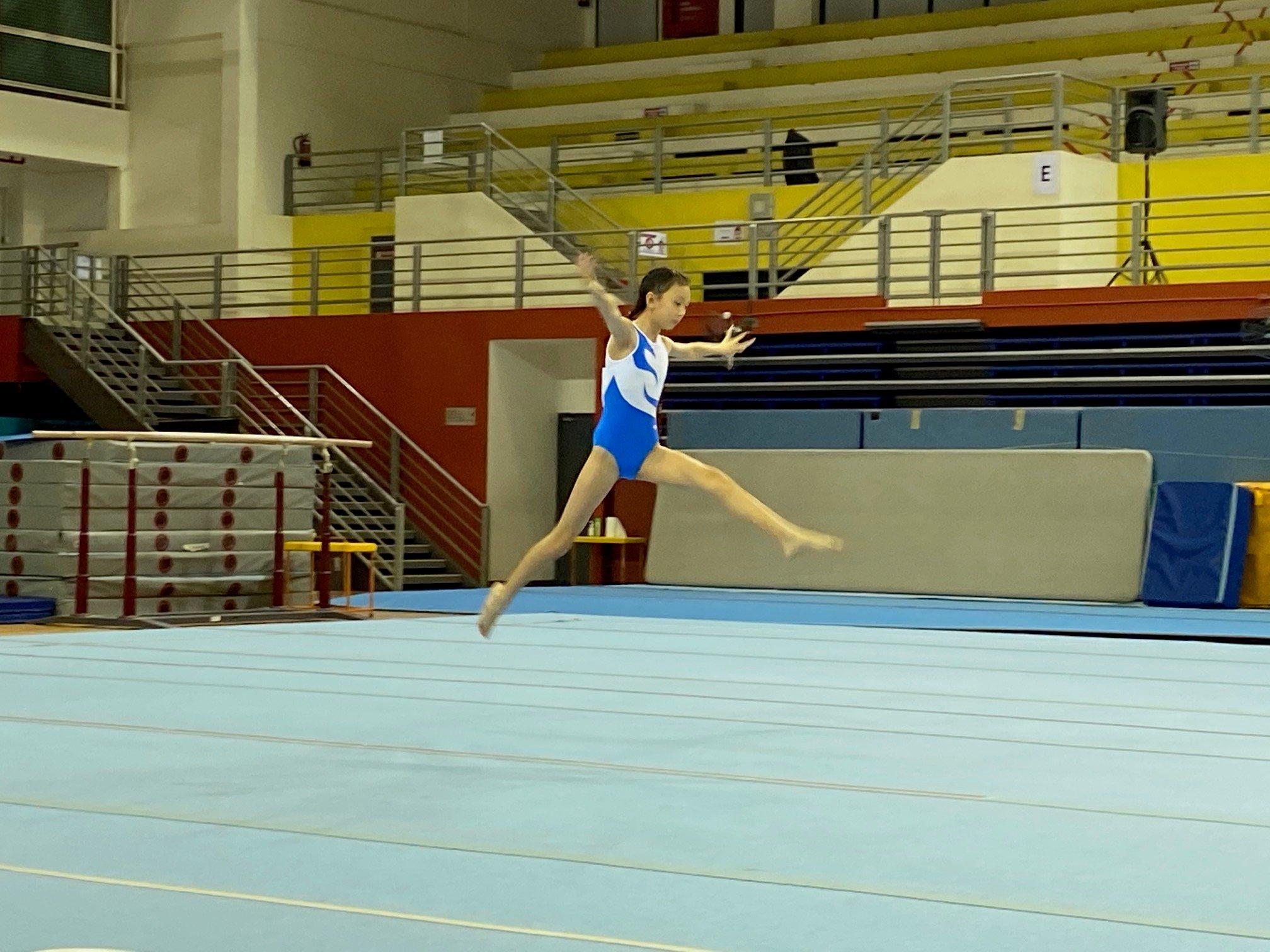 NSG Snr Div gymnastics - floor exercise (Henry Park) 4