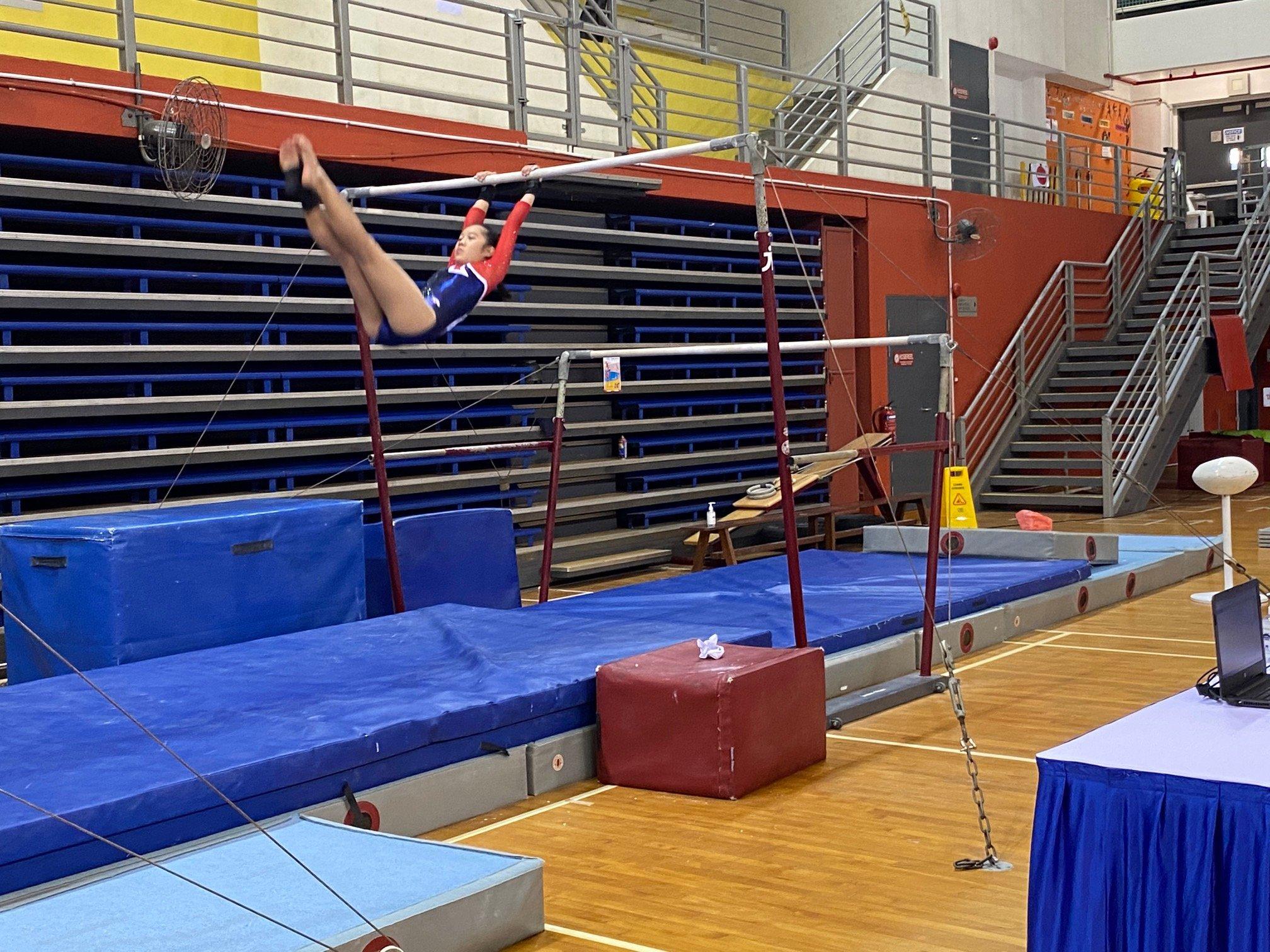 NSG Snr Div gymnastics - uneven bars (Ai Tong) 2