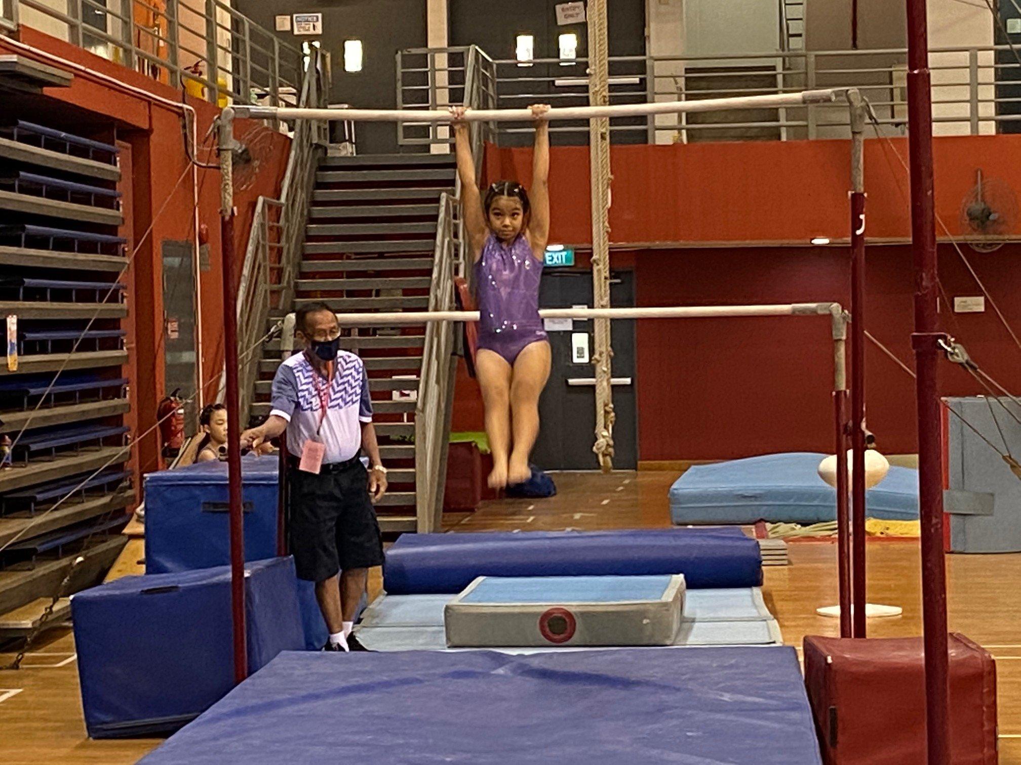NSG Snr Div gymnastics - uneven bars (CHIJ Katong) 3