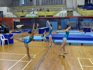 NSG Gymnastics : Athletes light up competition with flips, twists and somersaults!