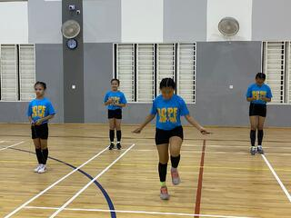 NSG Snr Div Rope Skipping: Youngsters showcase deft skipping skills and admirable perseverance