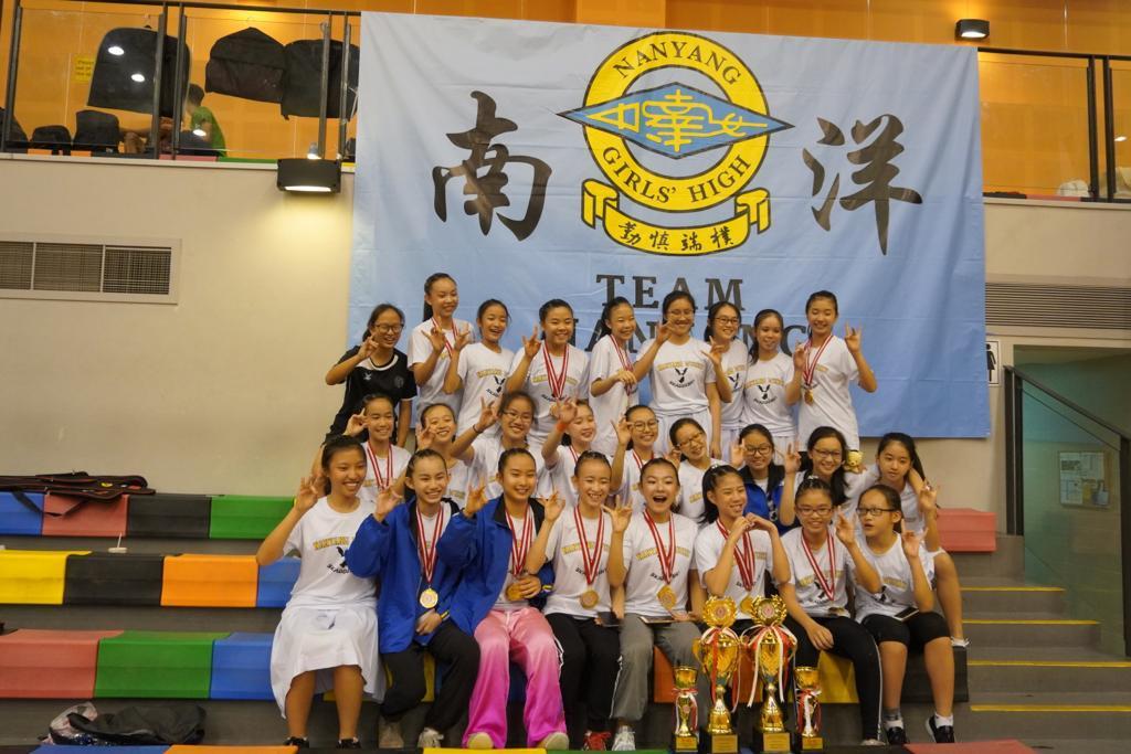 NYGHS Wushu Team