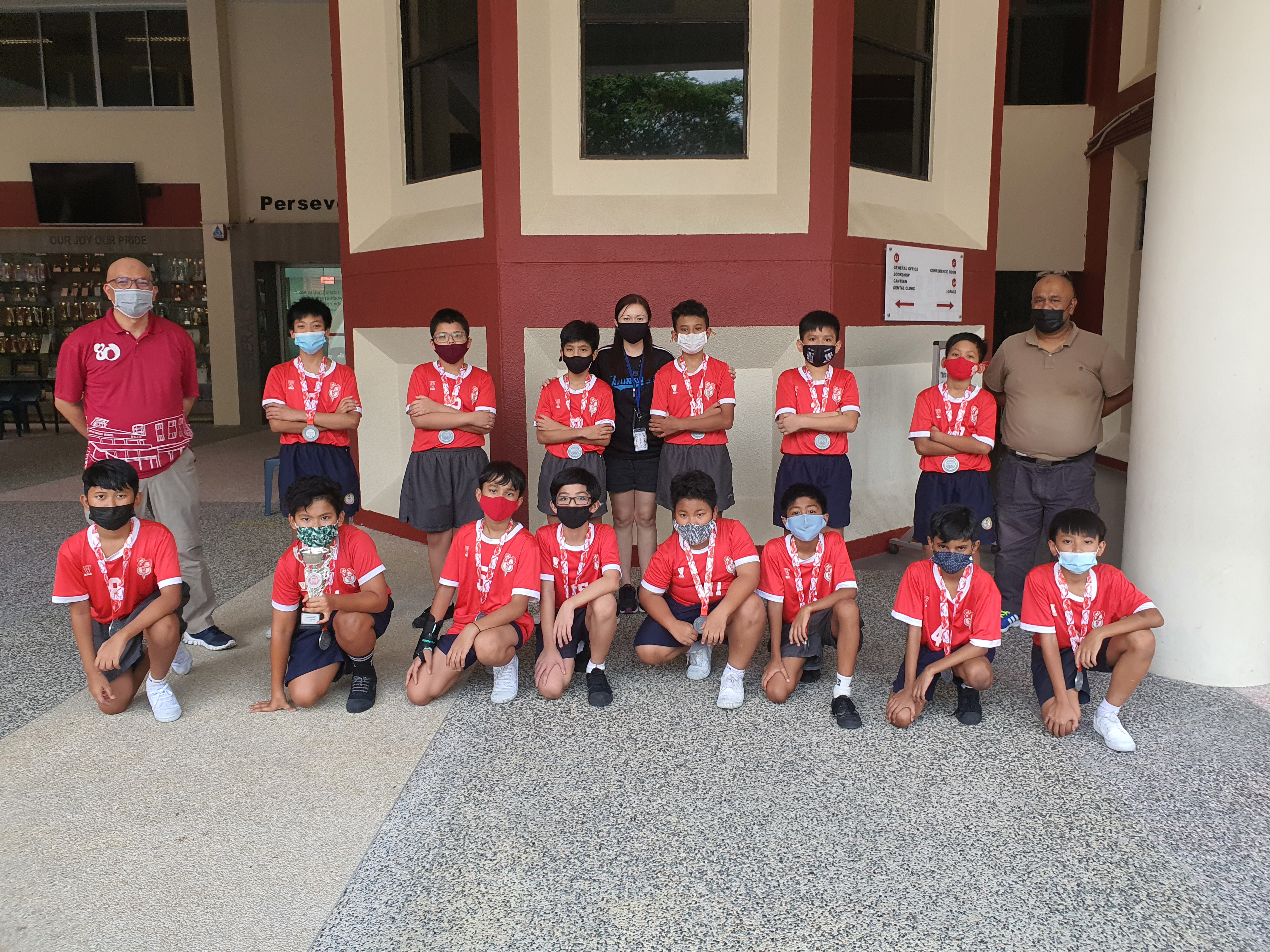 Qihua Primary School Sepak Takraw