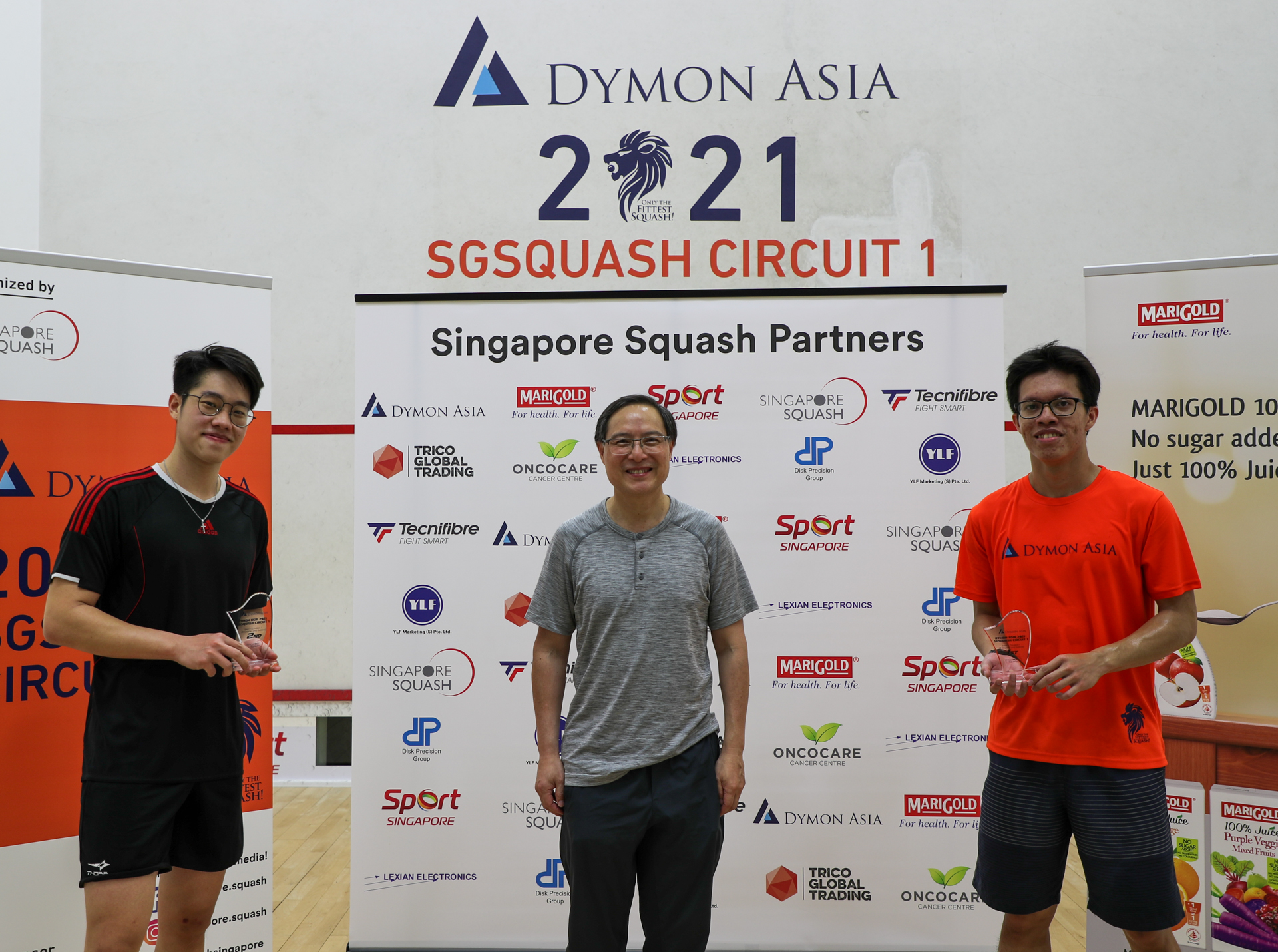 SGCircuit 1 - Winners-Men Div 1