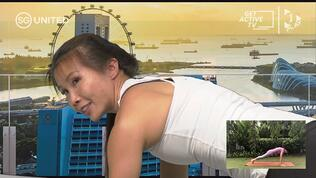 Yoga & Pilates with Dawn Sim and Betsy Chen. Ft. Min Grace Fu.