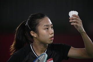Tokyo 2020 : TeamSG shuttler Yeo Jia Min makes her Olympic debut, with a strong and decisive performance!