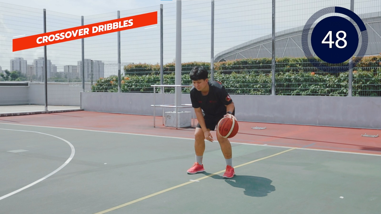 basketball crossover dribbles