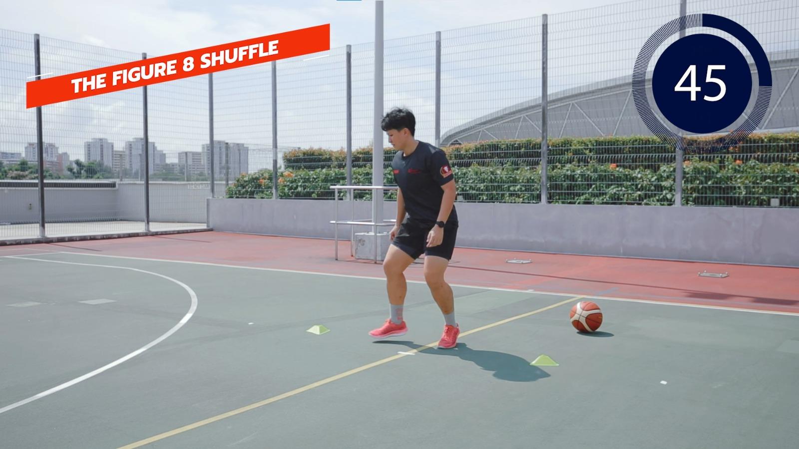 basketball the figure 8 shuffle