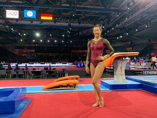 TeamSG Artistic Gymnast Tan Sze En : After almost 2 years of preps, I'm looking to excel on my Olympic debut!