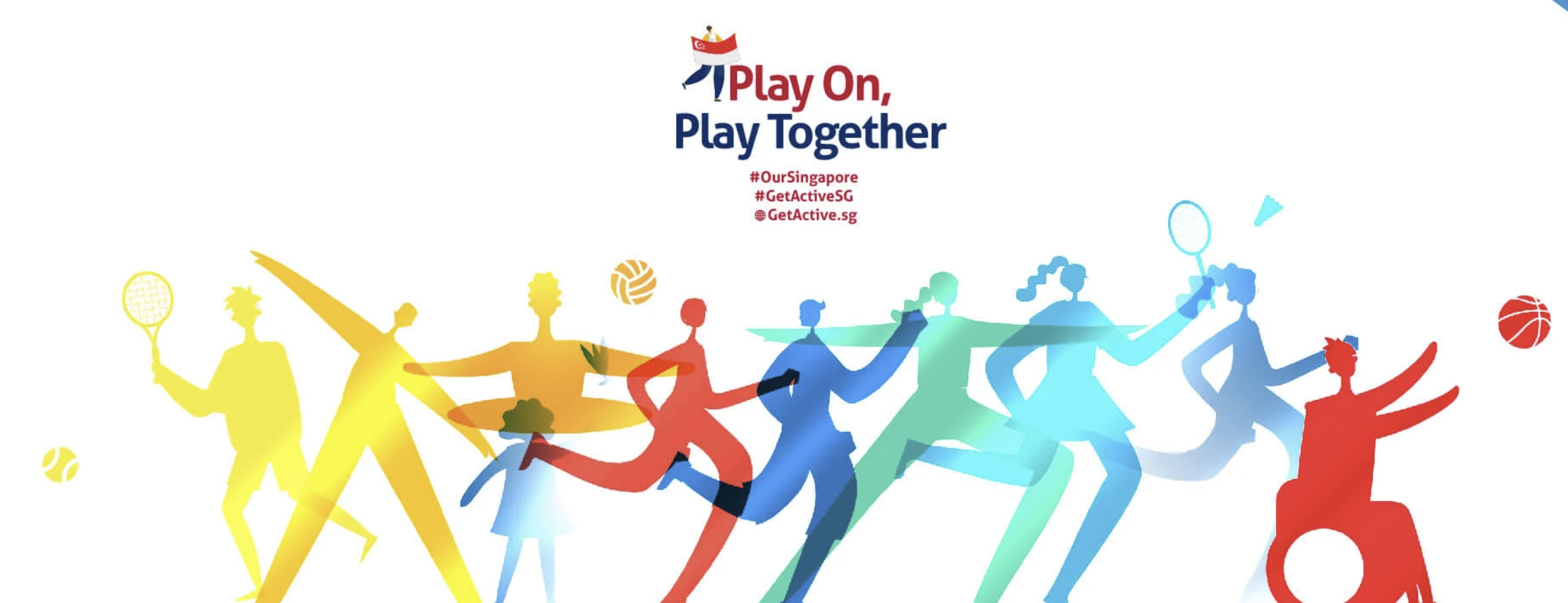 Get Active! Singapore 2021 encourages everyone to play on, play together, in a creative, fun and safe way