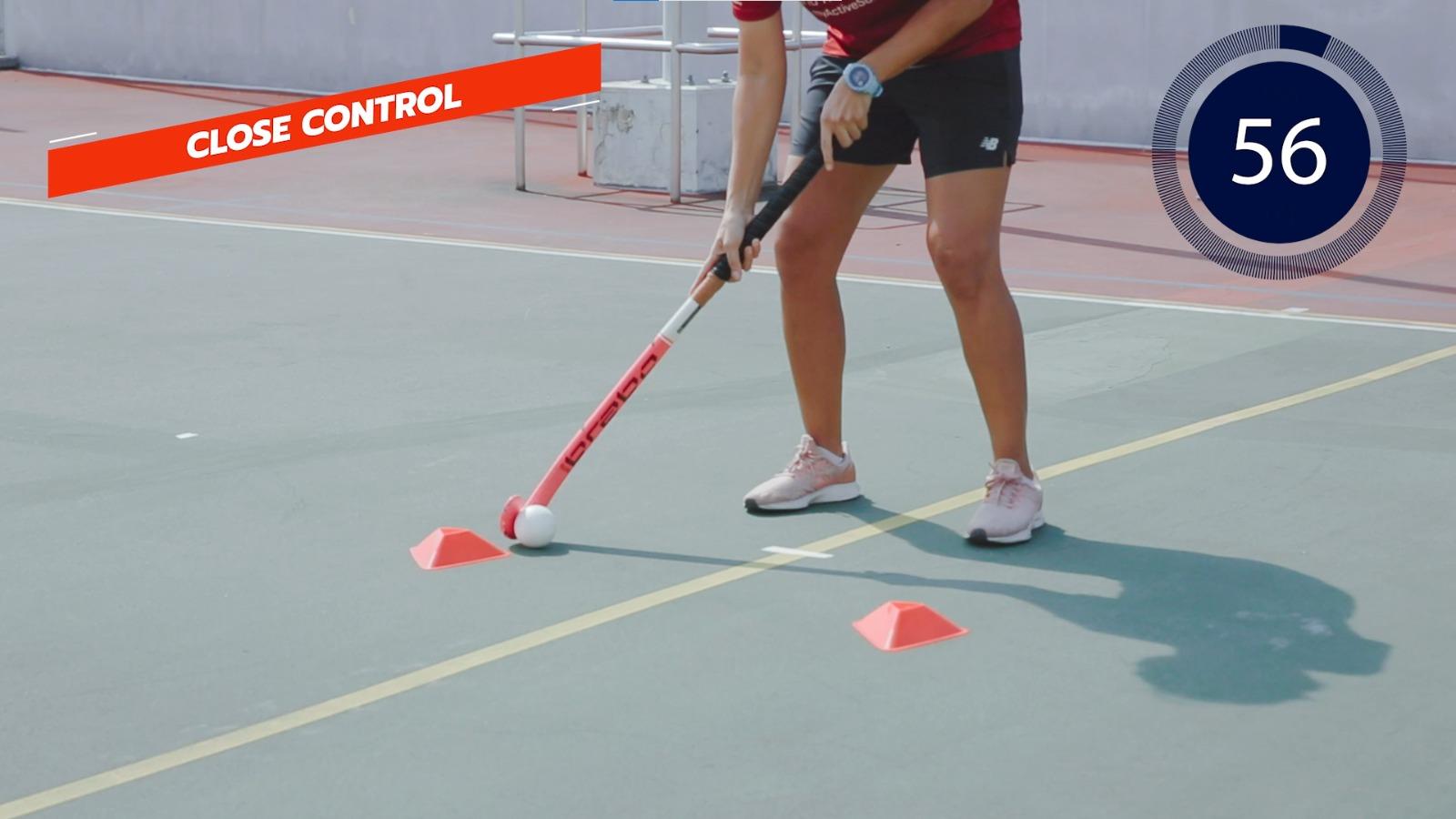 hockey close control