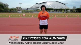 5 simples exercises to improve your running skills | Get Active TV Thumbnail