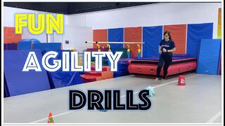 Fun Agility Drills for Kids Thumbnail