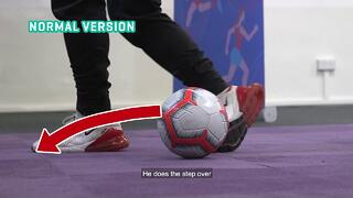 Football - Learning the Roll Over Dribbling Technique Thumbnail