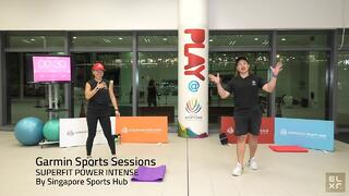 Power and muscle training with SuperFit Power Intense by Singapore Sports Hub Thumbnail