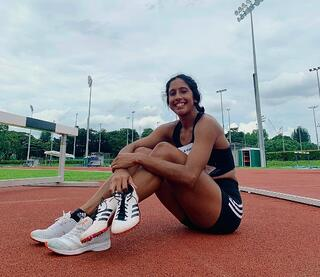 Tokyo 2020 : TeamSG Sprinter Shanti Pereira is banking on her wealth of experience at previous Major Games, for a good showing in her Olympic debut!