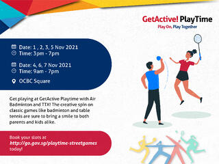 GetActive! Playtime: Are you (Street) Game enough?
