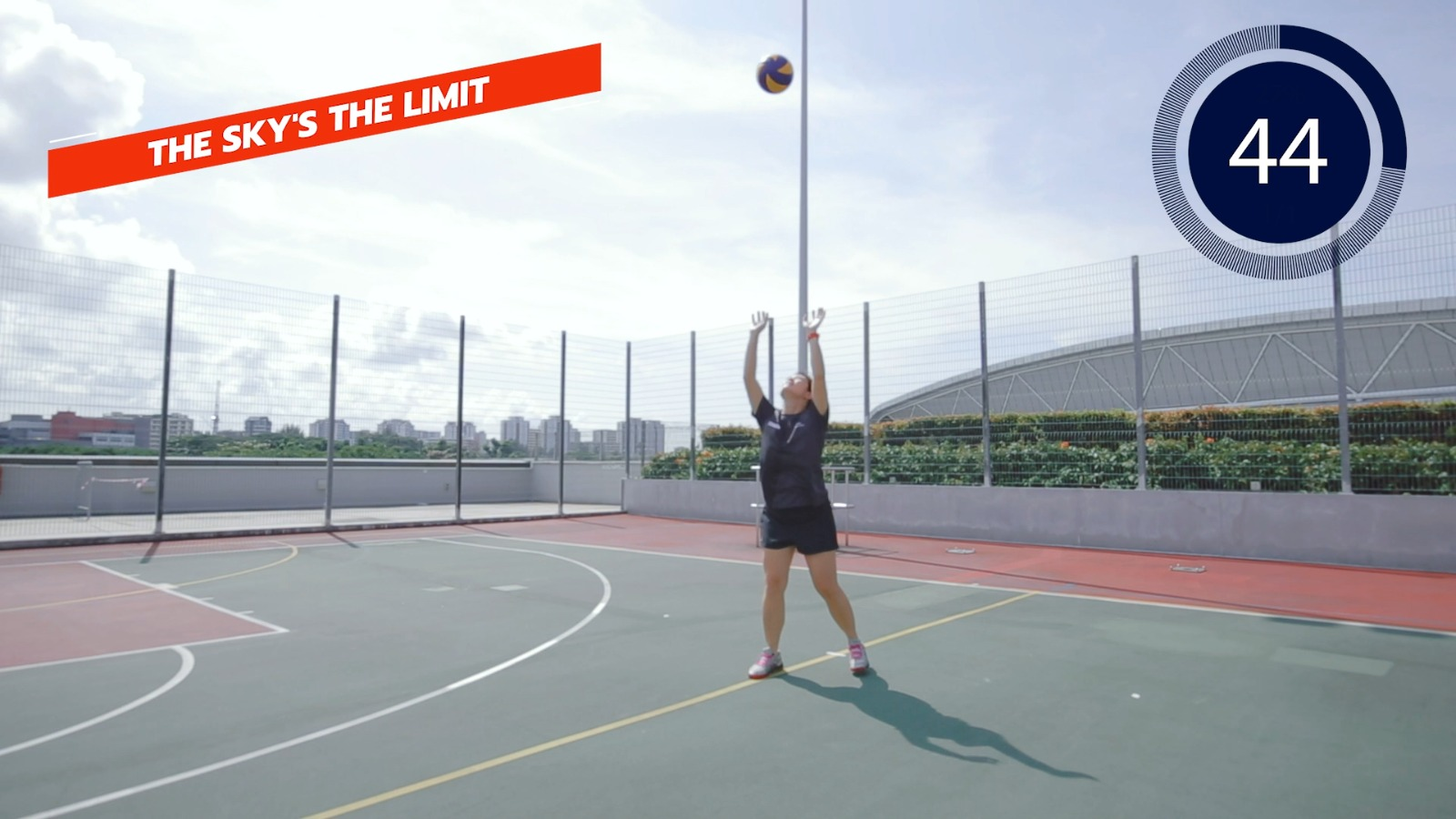 volleyball sky is the limit