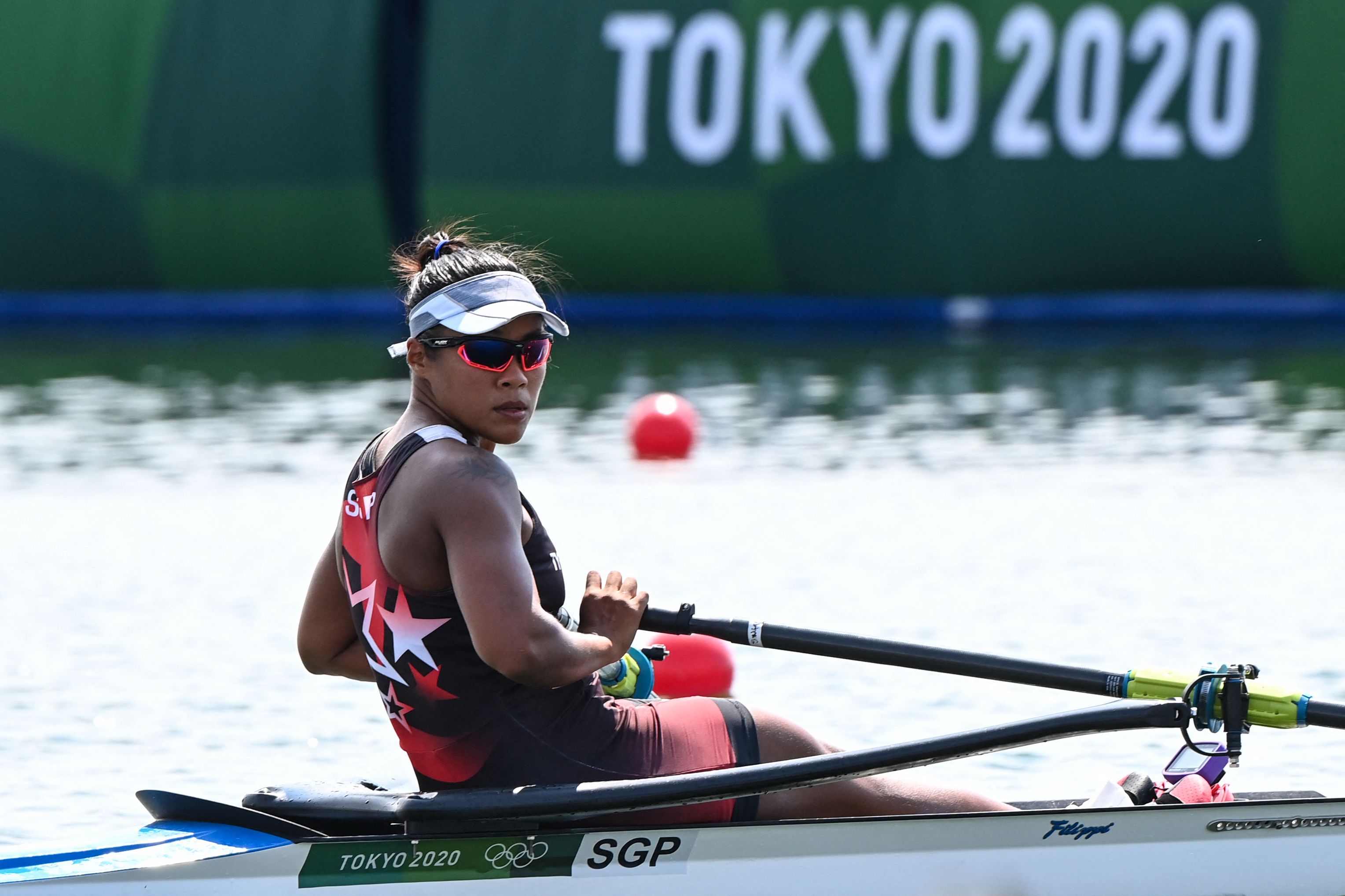 Tokyo 2020 : TeamSG Rower Joan Poh misses out on QF spot, despite decent showing in Repechage