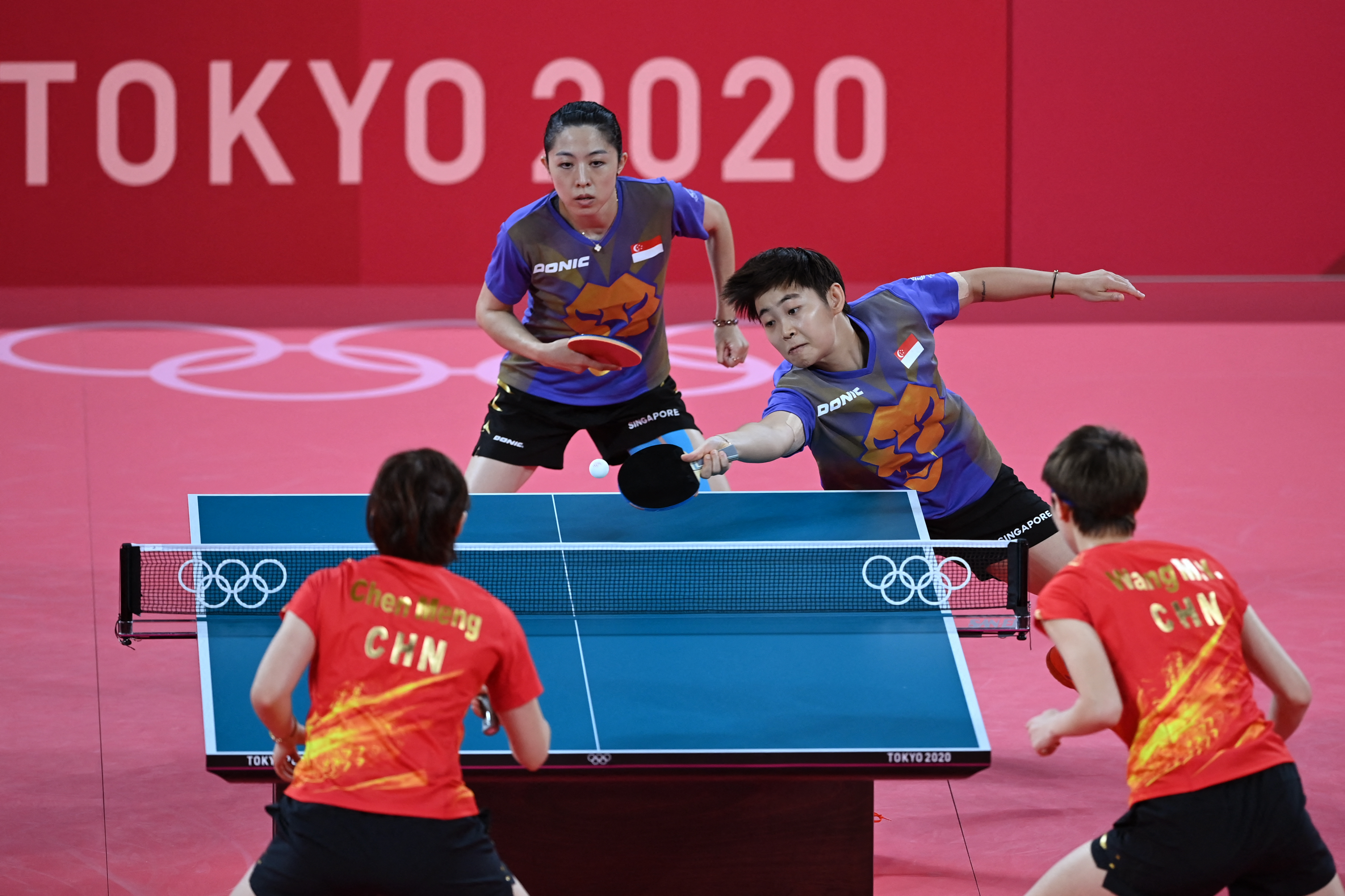 Tokyo 2020 : TeamSG paddlers' valiant effort against China, wasn't good enough to advance to semis!