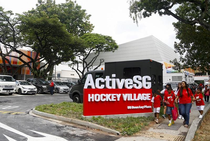 ActiveSG Hockey Village at Boon Lay opens doors to public