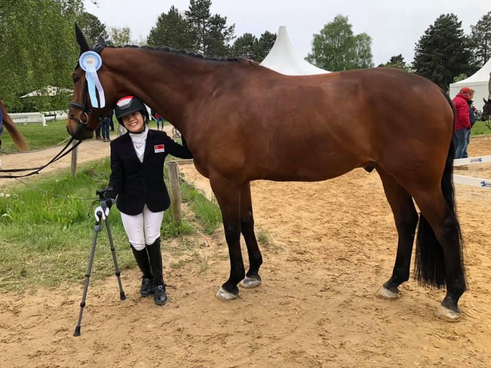 Tokyo 2020 : TeamSG Equestrienne Gemma Foo says,