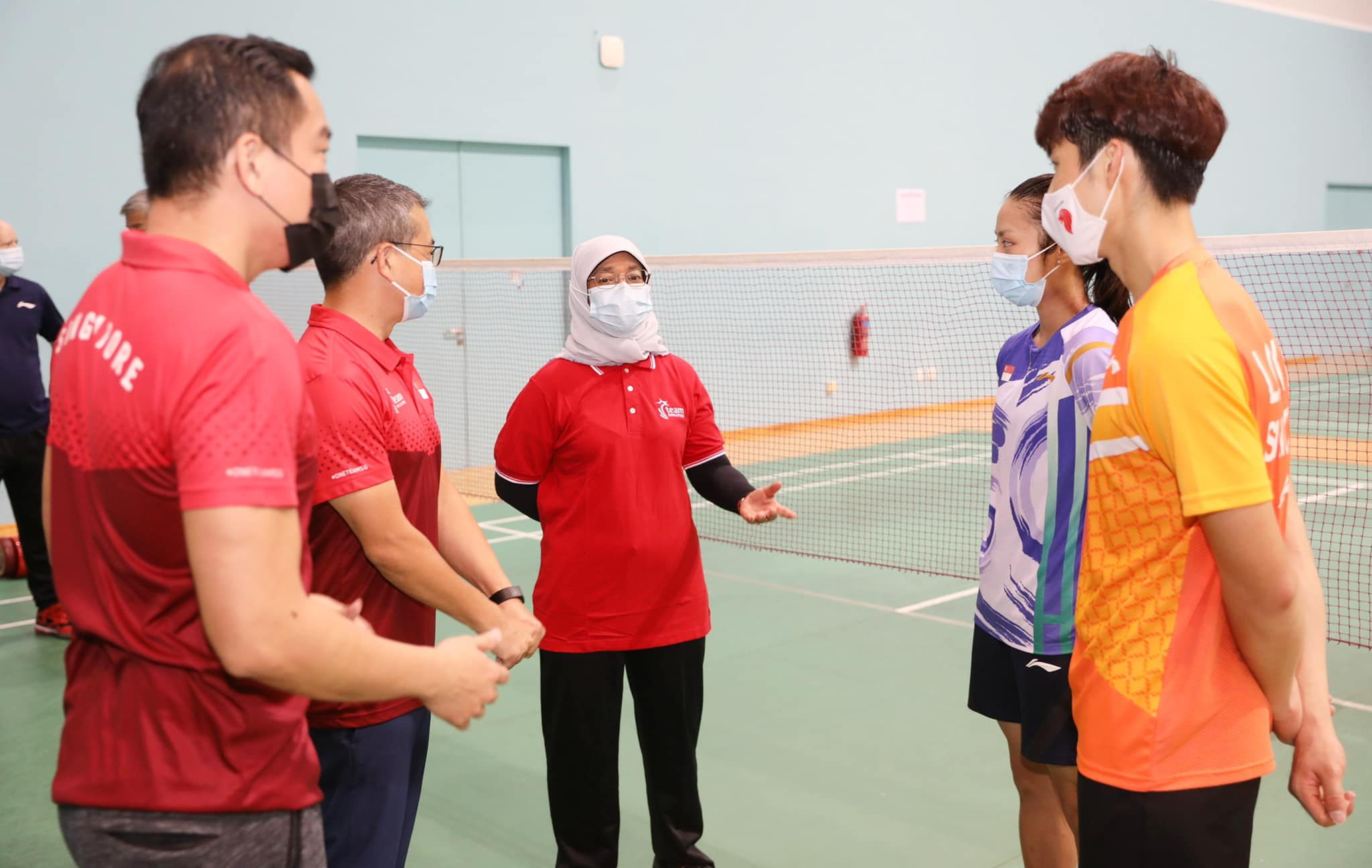 Bringing Presidential cheer to TeamSG's Olympic-bound athletes