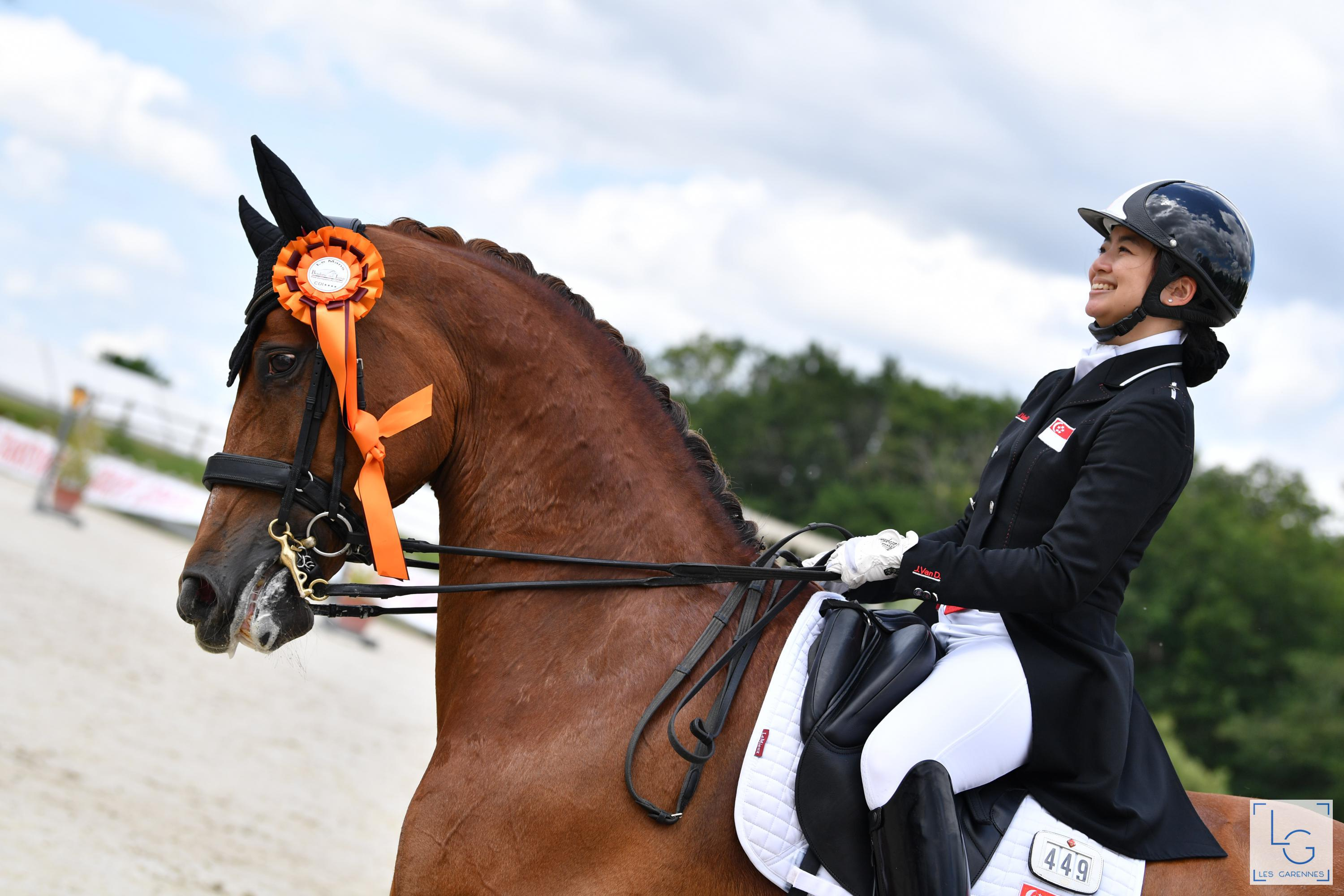 TeamSG Equestrienne Caroline Chew : After a journey of 6 years, I'm just weeks away from achieving my Olympic dream!