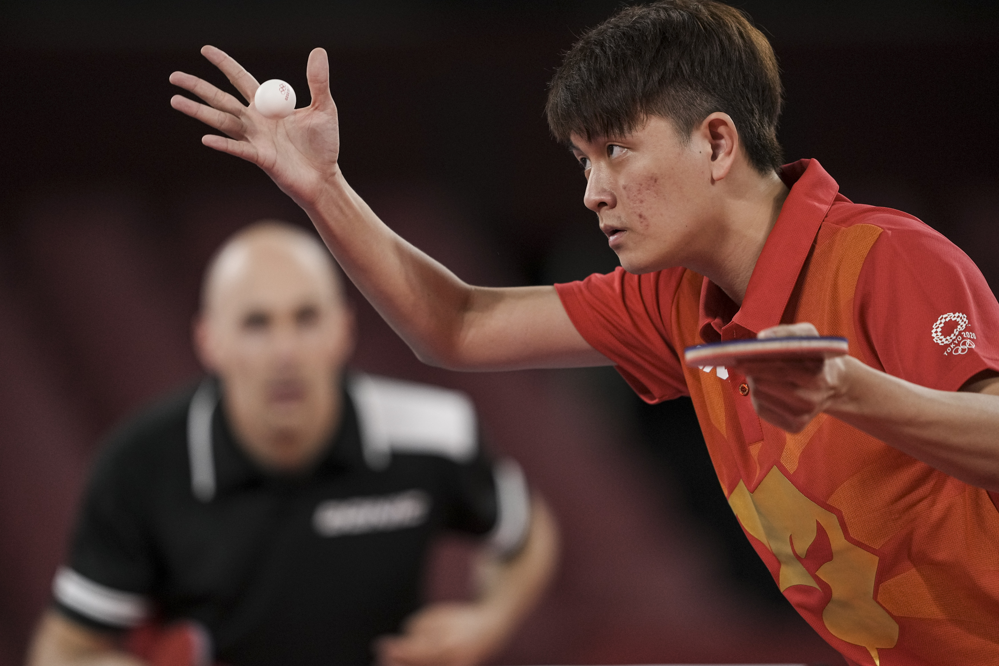 Tokyo 2020: TeamSG Paddler Clarence Chew puts up impressive display, before making 2nd Round exit