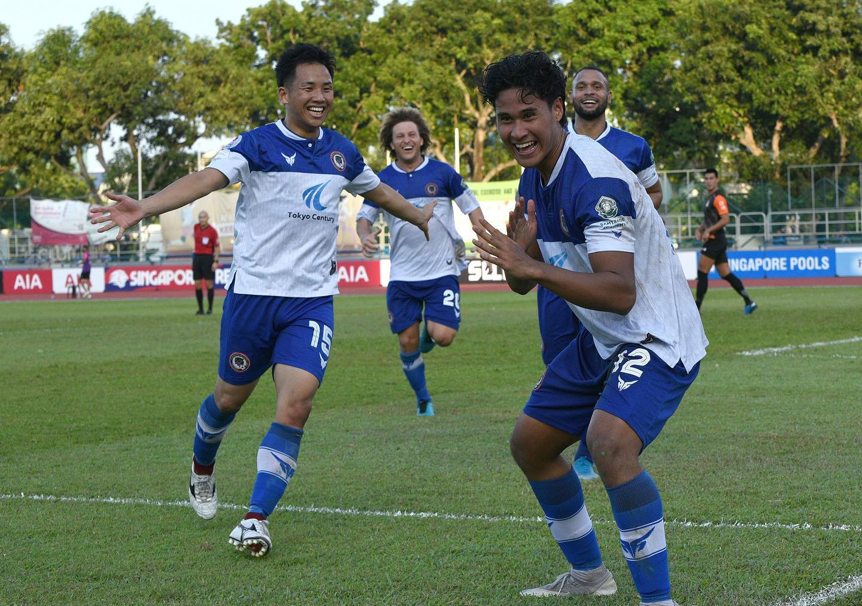 SPL : Tanjong Pagar Utd stun highflying Hougang 4-1 for 2nd win of the season!