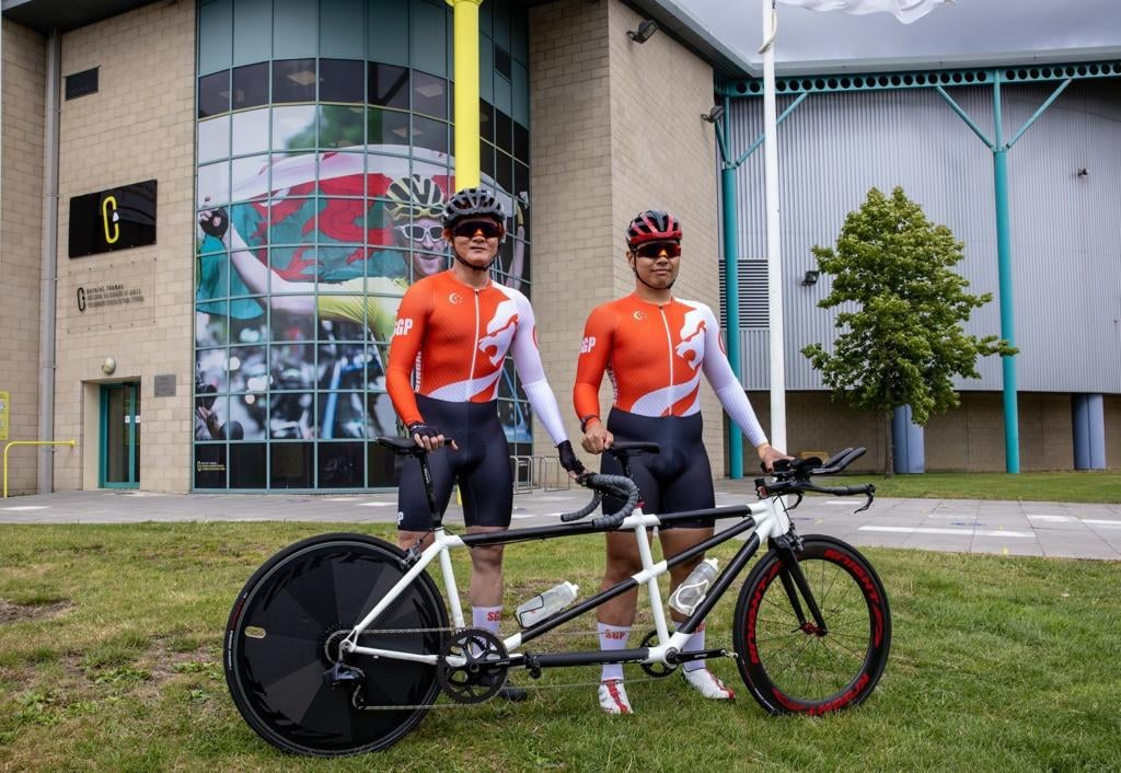 Tokyo 2020 : After spending 2 1/2 years of prepping, TeamSG Para-Cyclist Steve Tee is ready for his Paralympic debut!
