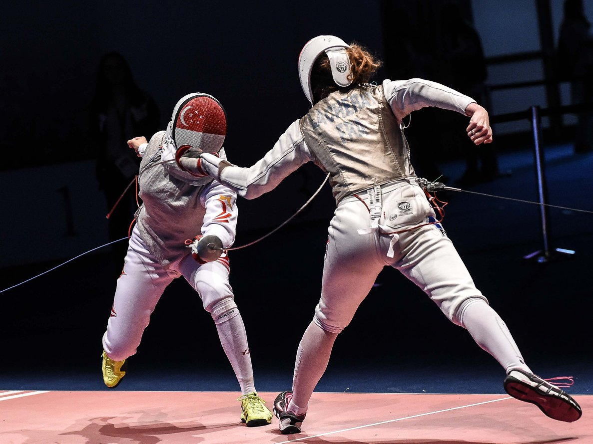 TeamSG Fencer Amita Berthier : I'm the underdog going to the Games, but I'll do my very best to make the nation proud!