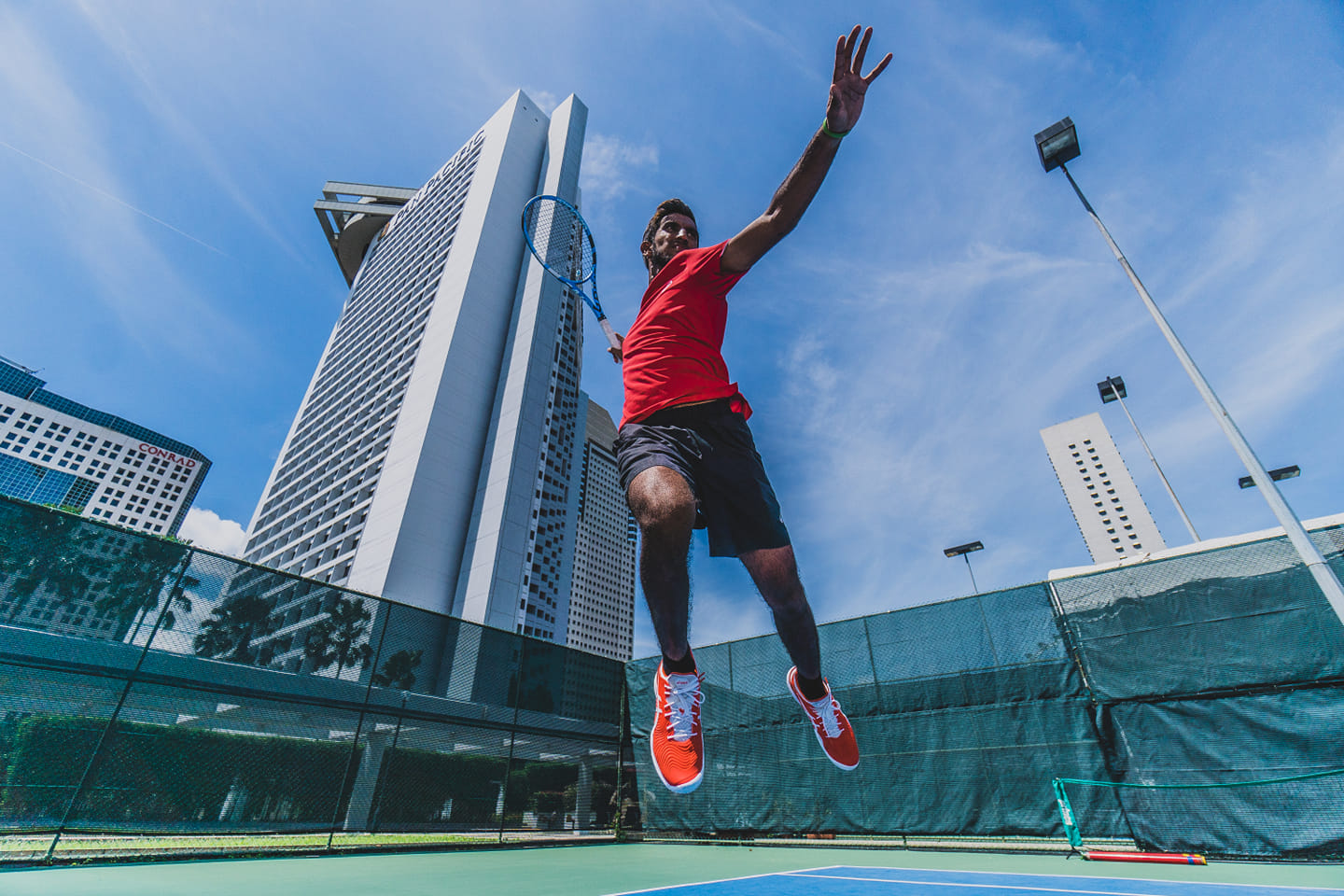 S'pore's No 1 Shaheed Alam : I will train even harder and aim to play professionally on the ATP Tour!