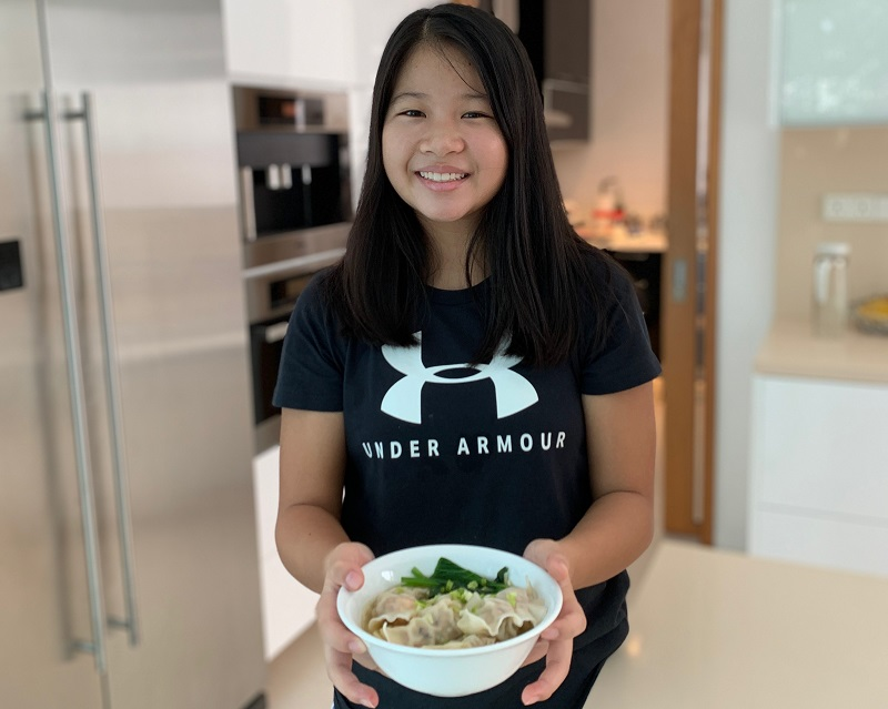 Team Singapore tennis player Audrey Tong's recipe for success