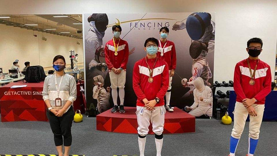 Fencing: Singapore Junior Challenge 2021