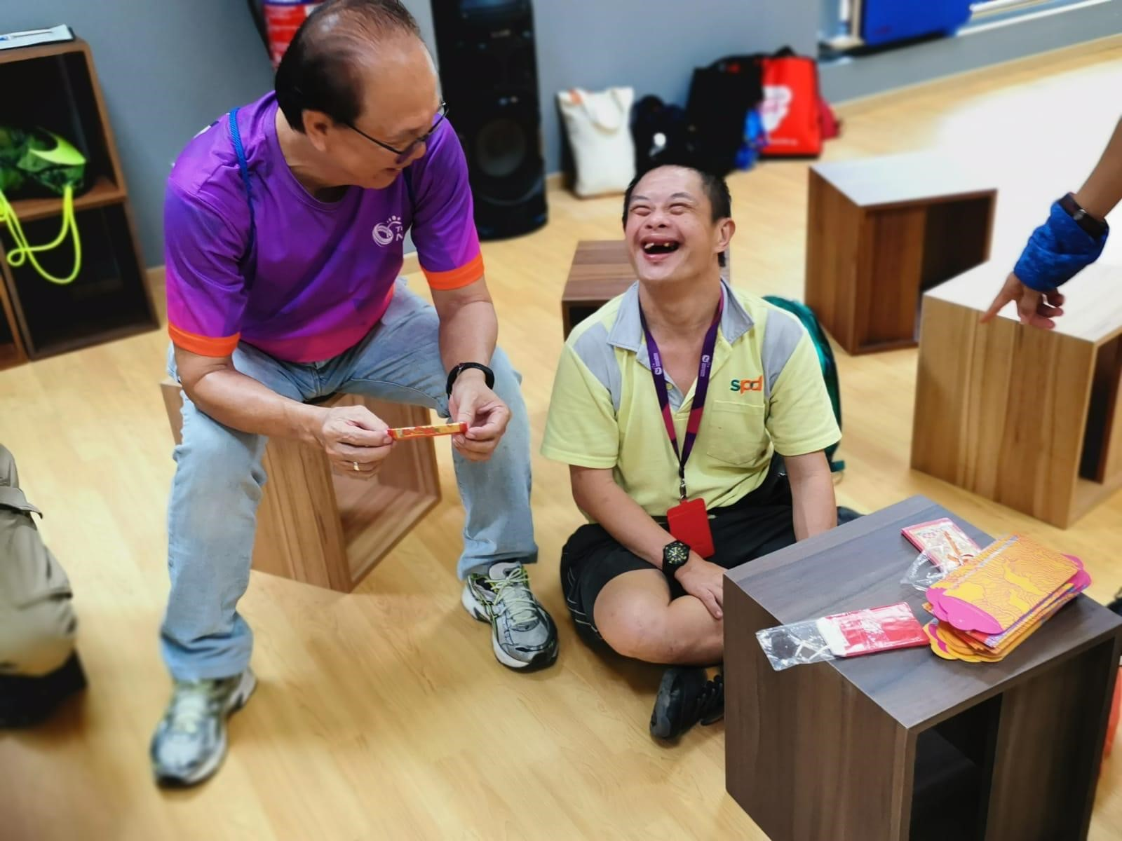 Team Nila volunteers spread joy at SPD's Day Activity Centre