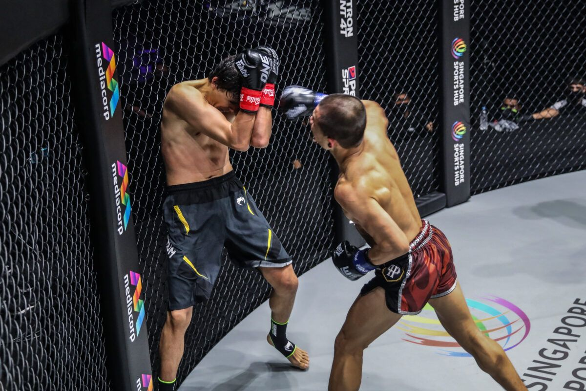 ONE Championship holds first live event of the year at Singapore Indoor Stadium