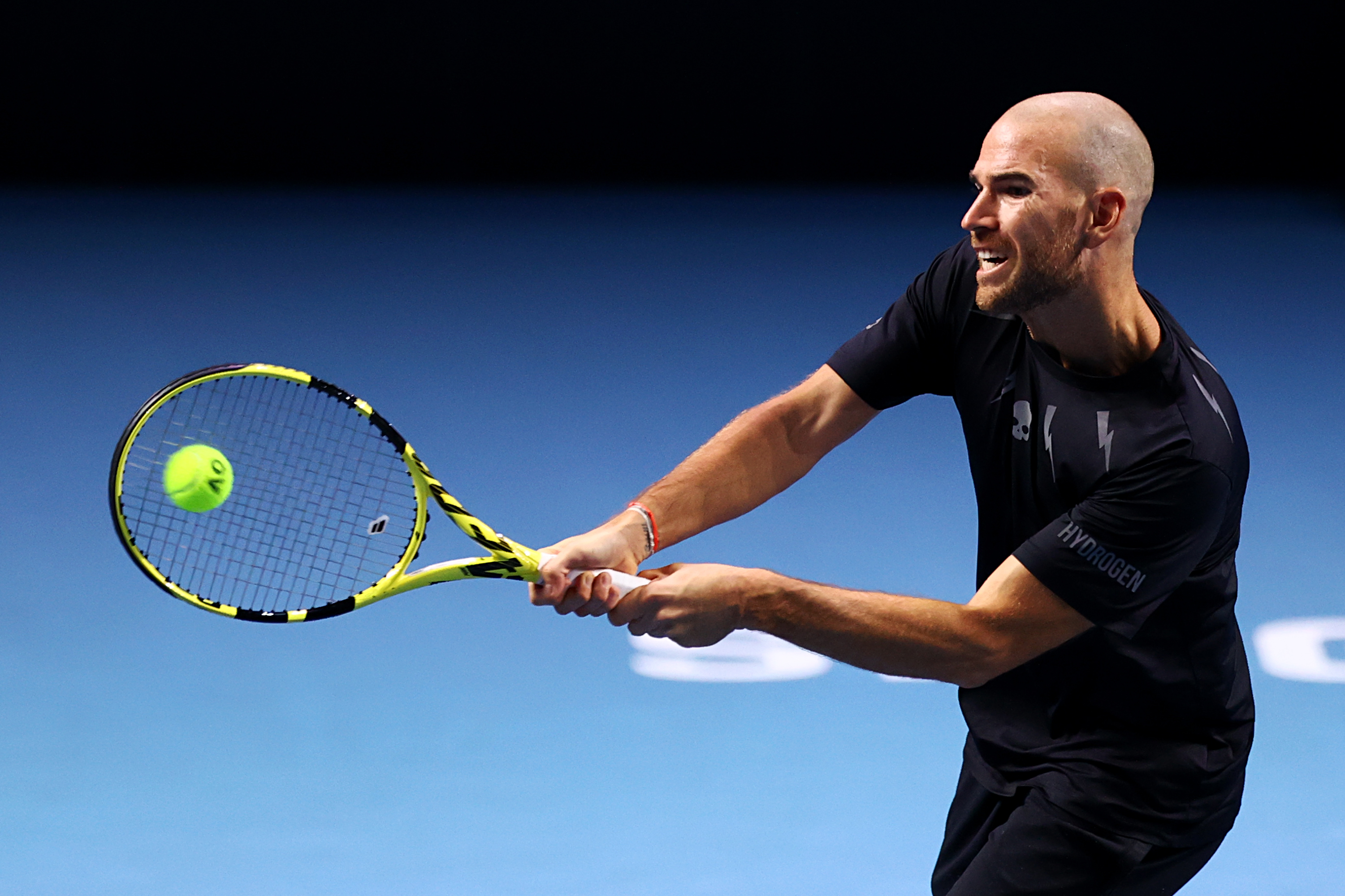 STO Top seed Mannarino, books his spot in the last 8, after defeating huge serving Marcora!