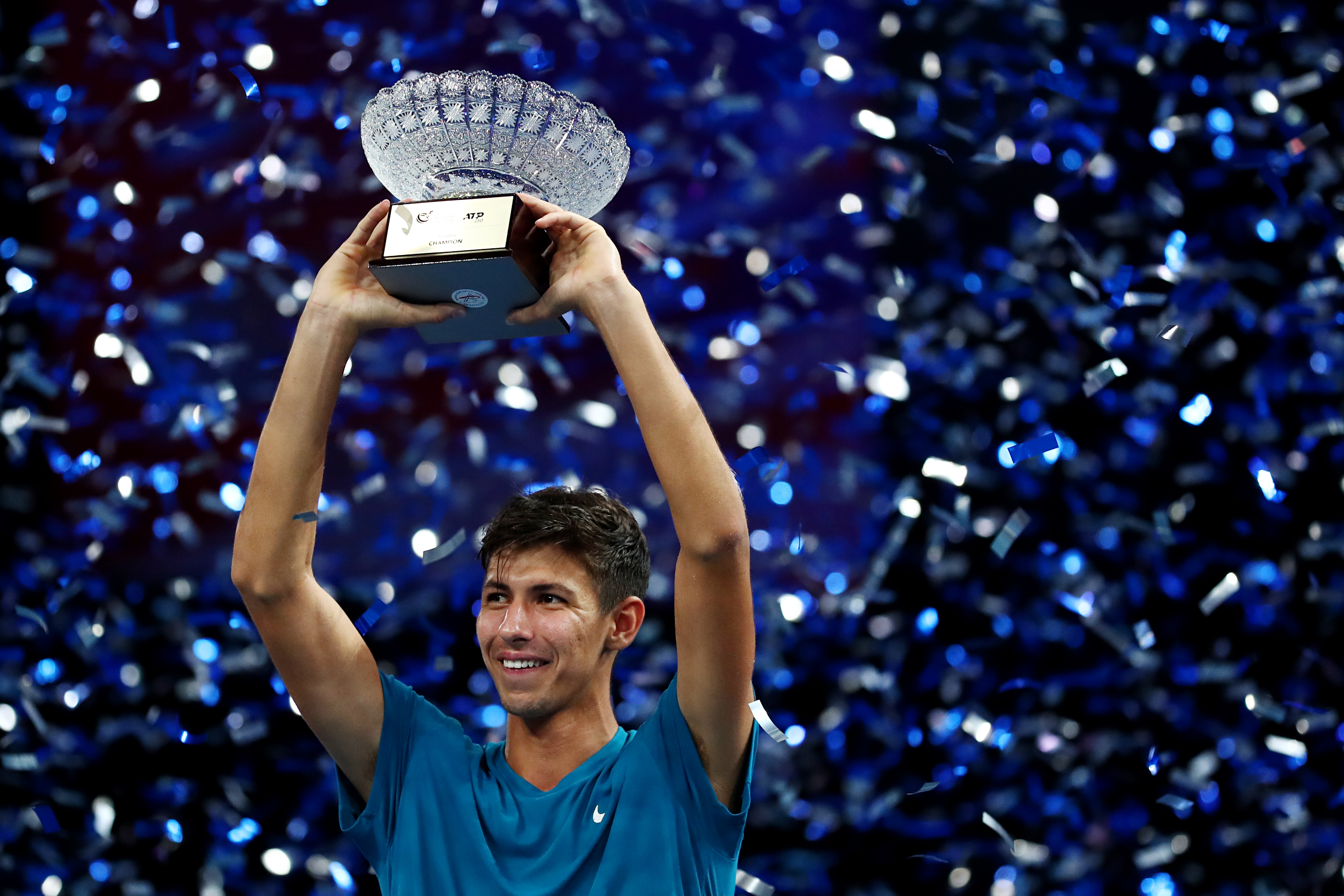 STO 2021 Champion Alexei Popyrin : This 1st ATP Tour title victory is for my Family!
