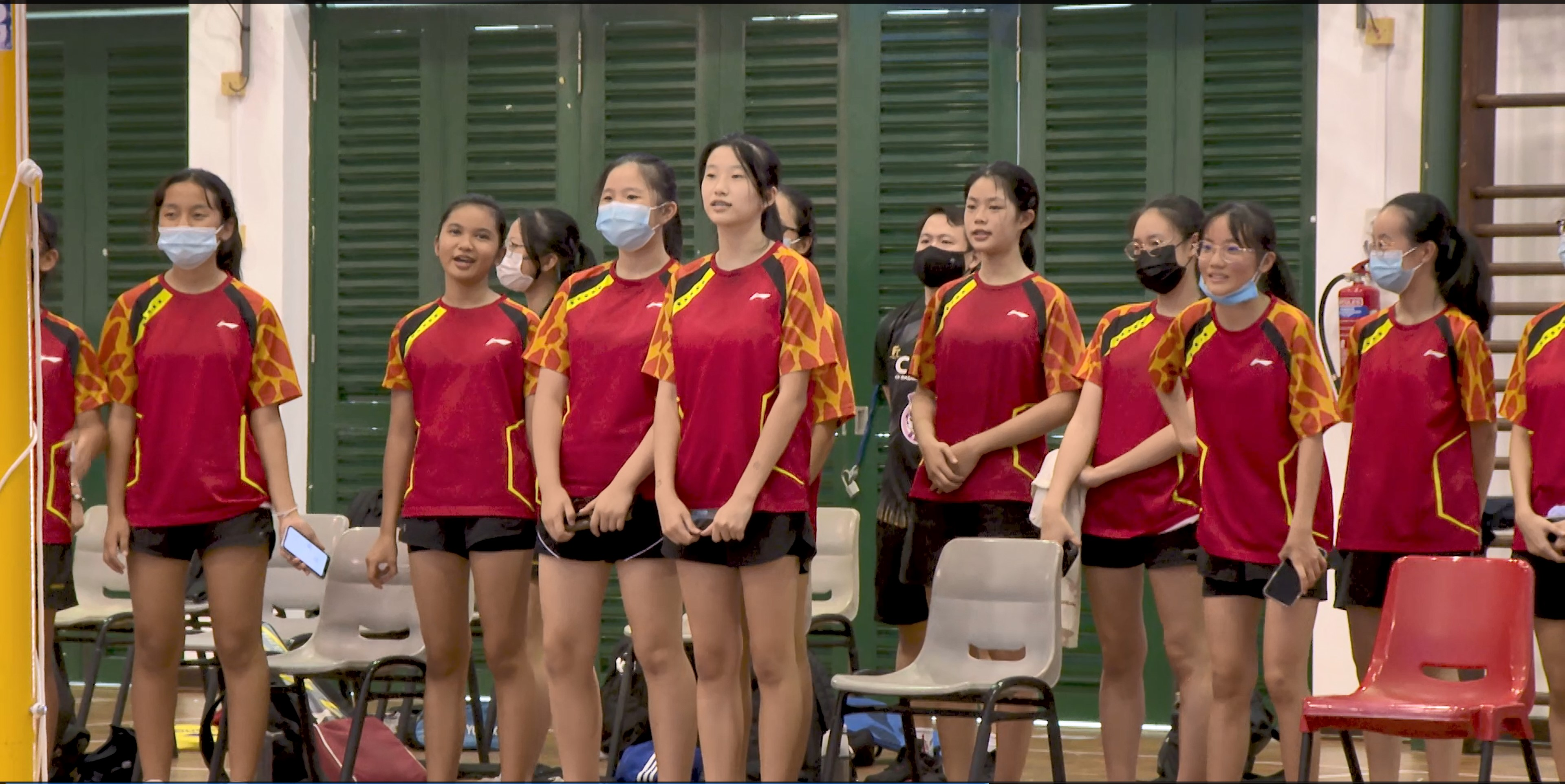 NSG 2021 : Badminton B Div Boys & Girls Prelims (East) - 1 Apr