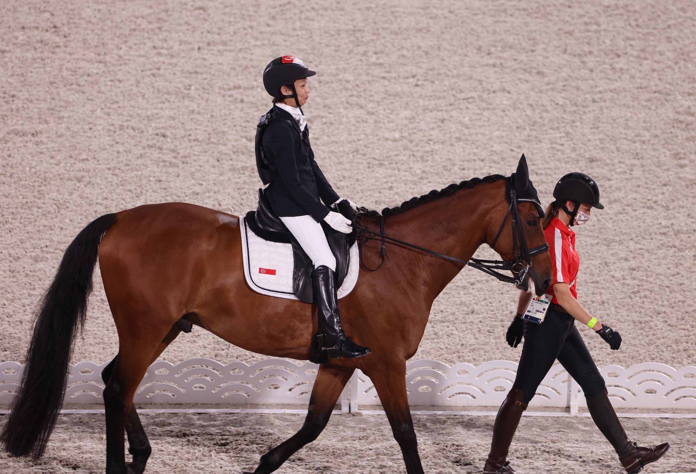 Tokyo 2020: TeamSG's Laurentia Tan misses out on her 5th Paralympic medal, despite brilliant Individual Freestyle Dressage display!