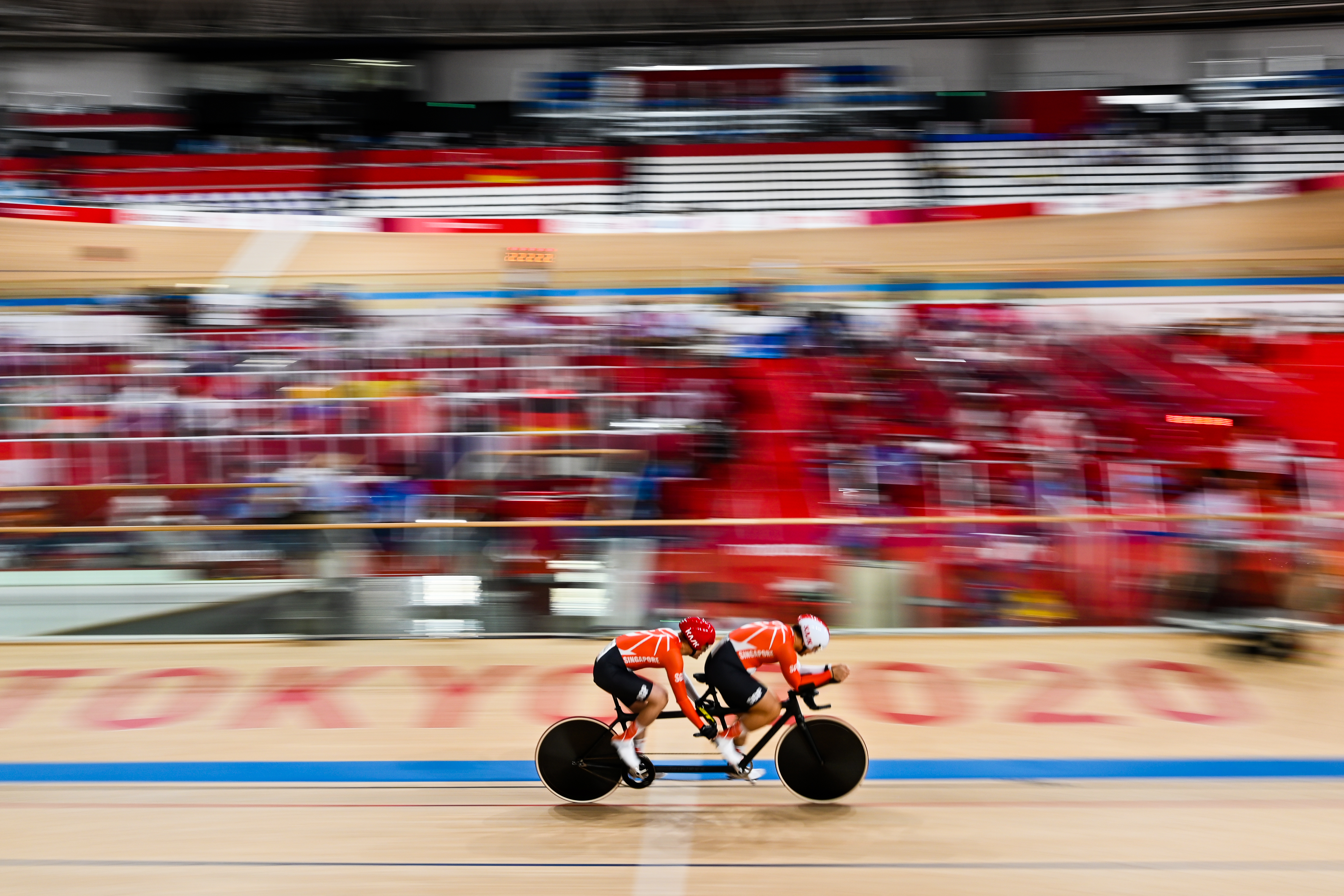 Tokyo 2020: TeamSG's Tandem Para-cycling duo of Steve Tee and Ang Kee Meng, shrugged off their recent training injuries to achieve Personal Best!
