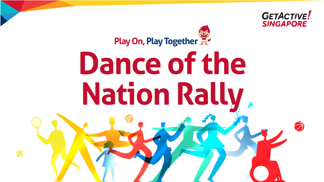 Get Active! Dance of the Nation Rally
