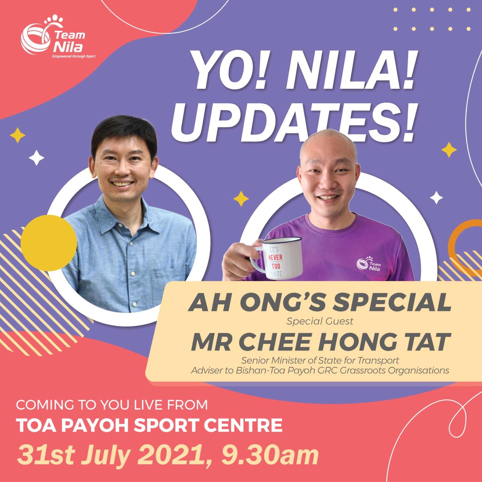 Yo Nila! Updates with Mr. Chee Hong Tat Thumbnail