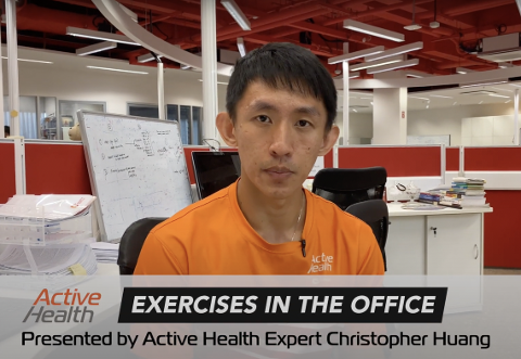 Active Health Exercises in the Office Thumbnail