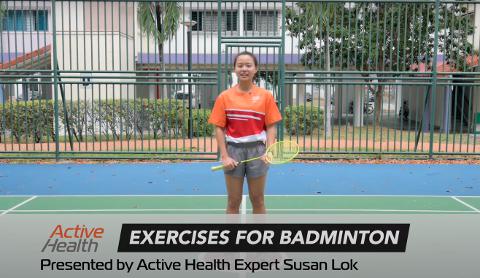 Active Health Exercises for Badminton Thumbnail