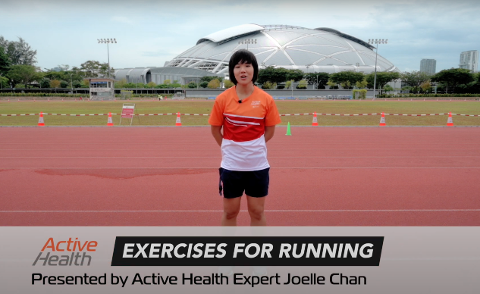Active Health Exercises for Running Thumbnail