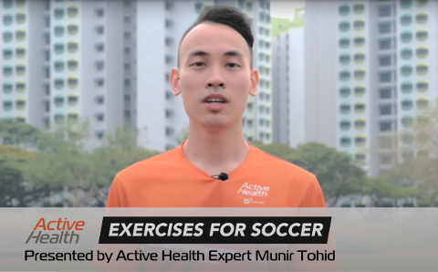 Active Health Exercises for Soccer Thumbnail