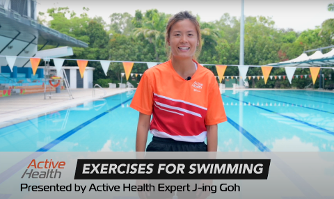 Active Health Exercises for Swimming Thumbnail